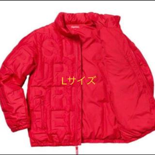 Supreme - supreme bonded logo puffy jacket L