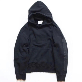 SUNSEA - stein OVERSIZED REBUILD SWEAT HOODED