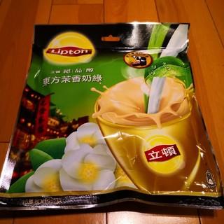 ユニリーバ(Unilever)のリプトン 東方茉香奶綠 ジャスミンミルクティー 16袋入(茶)