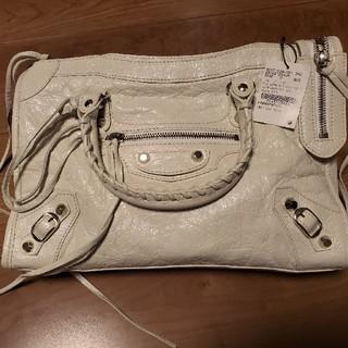 バレンシアガバッグ(BALENCIAGA BAG)のバレンシアガ BALENCIAGA クラシック ホワイト(ハンドバッグ)
