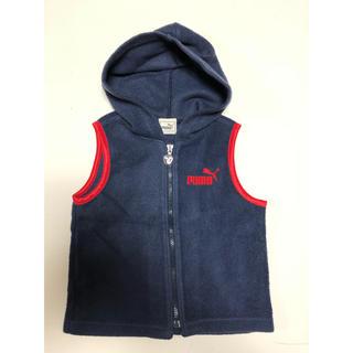プーマ(PUMA)のPUMAプーマ フリースベスト 紺(ジャケット/上着)