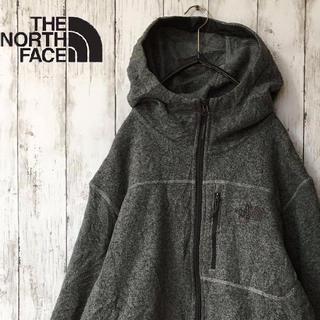 THE NORTH FACE - 【古着】THE NORTH FACE フリースジャケット ジップアップ パーカー
