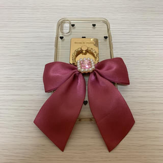 メゾンドフルール(Maison de FLEUR)のMaison de FLEUR iphoneリング ピンク(iPhoneケース)