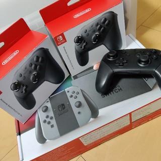 Nintendo Switch - 任天堂 Switch 本体 フルセット プロコン付き