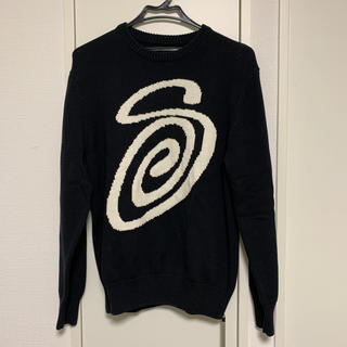 STUSSY - STUSSY CURLY S SWEATER
