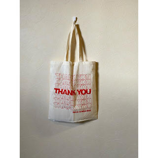 "JOURNAL STANDARD - 新品 ""Thank you"" コットントートバッグ"