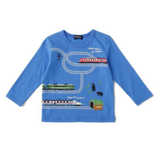 kladskap - クレードスコープ 新品 クマ電車Tシャツ