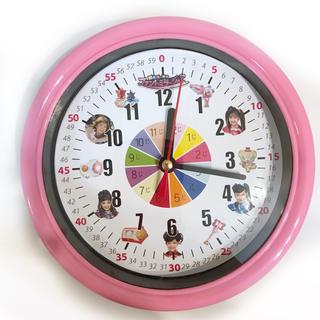 ファントミラージュ 分入り 掛け時計 ピンク