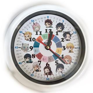 鬼滅の刃 分入り 掛け時計 ホワイト