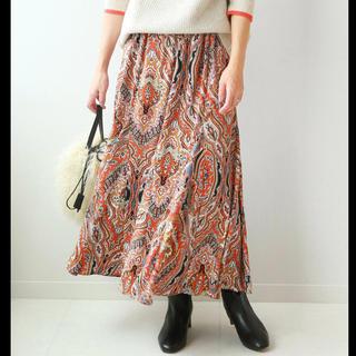 JOURNAL STANDARD - お値下げ再出品価格 ペイズリーロングスカート