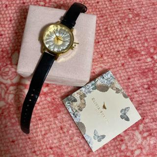 BEAMS - オリビアバートン デイジー 黒 腕時計 30mm
