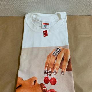 Supreme - 20ss 白 M supreme cherries tee