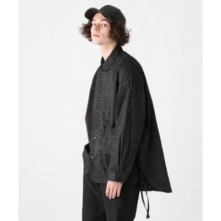 HARE - 完売品 HARE 20ss 新作 クロコパターン シャツ 黒 M