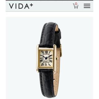 TOMORROWLAND - 美品 VITA+ 腕時計 レディース 型押し レザー 電池交換済み