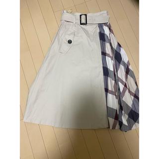 BURBERRY BLUE LABEL - クレストブリッジ トレンチスカート サイズ36