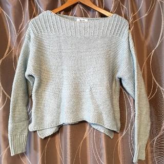 パステルグリーンのセーター(ニット/セーター)