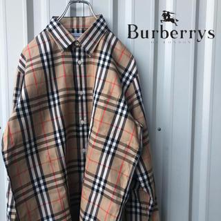 BURBERRY - Burberrys 90s シャドーホース ノバチェック シャツ