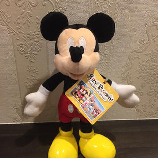ミッキーマウス(ミッキーマウス)のミッキー ポージープラッシー(キャラクターグッズ)