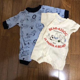 babyGAP - DADWAY ダッドウェイ ロンパース  ベビー 赤ちゃん 60