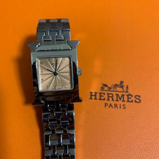 Hermes - 【極美品】エルメス HH1.210 Hウォッチ クオーツ レディース ブレス時計