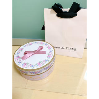 メゾンドフルール(Maison de FLEUR)のメゾンドフルール プレゼント BOX(ショップ袋)