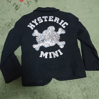 HYSTERIC MINI - スパンコールジャケット