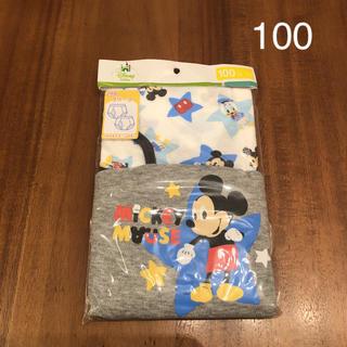 Disney - 新品 ディズニー ミッキー ブリーフ 男の子 100cm パンツ