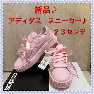 アディダス(adidas)の⭐️【新品】アディダス 厚底スニーカー 23センチ  ピンク⭐️(スニーカー)