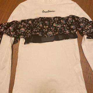 ラブトキシック(lovetoxic)のLOVETOXIC (トップス)(Tシャツ(長袖/七分))