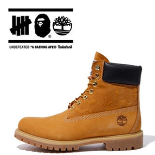 Timberland - TIMBERLAND BAPE UNDFTD ブーツ A BATHING APE