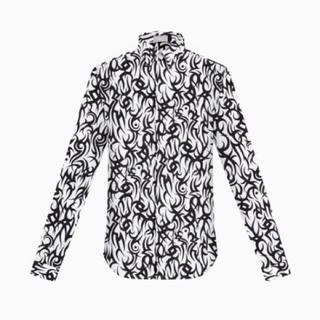DIOR HOMME - Dior homme 18aw トライバル シャツ