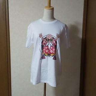 ドラゴンボール(ドラゴンボール)の新品・ドラゴンボール・男女兼用Tシャツ・白・亀仙人(Tシャツ(半袖/袖なし))
