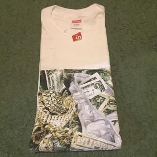 シュプリーム(Supreme)の白L 即発送 Supreme Bling Tee Tシャツ(Tシャツ/カットソー(半袖/袖なし))