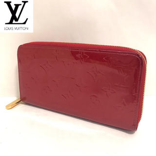 LOUIS VUITTON - 【正規品】美品✨ルイヴィトン ヴェルニ ラウンドファスナー 長財布