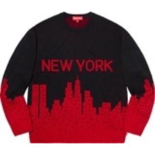 Supreme - 20SS Supreme New York Sweater Mサイズ RED 赤