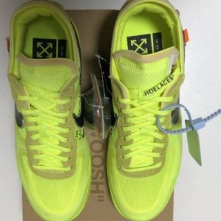 NIKE - NIKE AIR FORCE 1 LOW × OFF WHITE VOLT