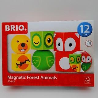 ブリオ(BRIO)のBRIO ブリオ マグネット式スタッキングアニマル 30445(積み木/ブロック)