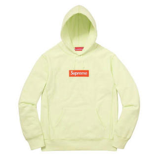 Supreme - Supreme Box Logo Hooded Sweatshirt ライム
