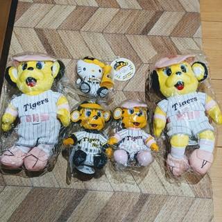 阪神タイガース   トラッキー ラッキー ハローキティ ぬいぐるみ 新品 未開封