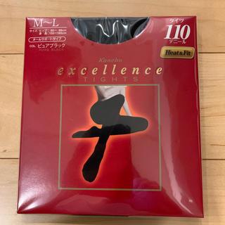 カネボウ(Kanebo)のカネボウ エクセレンス タイツ 110D Mサイズブラック(タイツ/ストッキング)
