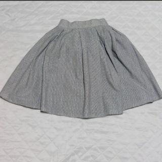 アルシーヴ(archives)のarchives  ストライプスカート(ひざ丈スカート)