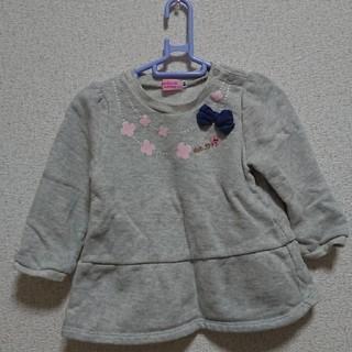ホットビスケッツ(HOT BISCUITS)のホットビスケッツ ペプラムチュニック(Tシャツ/カットソー)