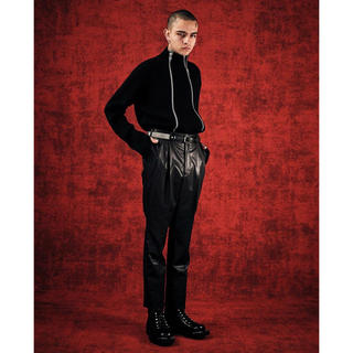 JOHN LAWRENCE SULLIVAN - JOHN LAWRENCE SULLIVAN LEATHER TROUSERS