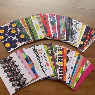 marimekko - マリメッコ marimekko ポストカード 50枚セット