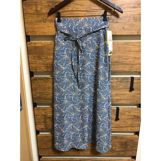 しまむら - プチプラのあや新作小花柄スカート新品