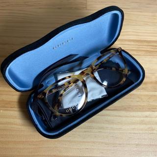 Gucci - GUCCI グッチ メガネ べっこう柄 黄色 サングラス 眼鏡 めがね