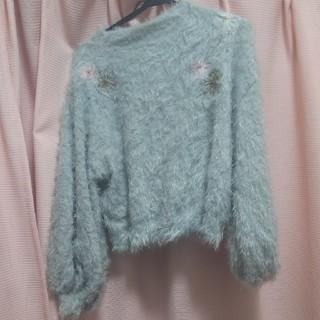 オリーブデオリーブ(OLIVEdesOLIVE)のオリーブデオリーブ OLIVE des OLIVE 起毛セーター(ニット/セーター)
