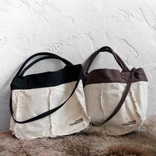 ルームサンマルロクコンテンポラリー(room306 CONTEMPORARY)のroom306CONTEMPORARY 2way campus bag(BK)(トートバッグ)