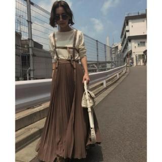 Ameri VINTAGE - Ameri【新品】ハーネスサスペンダー スカート