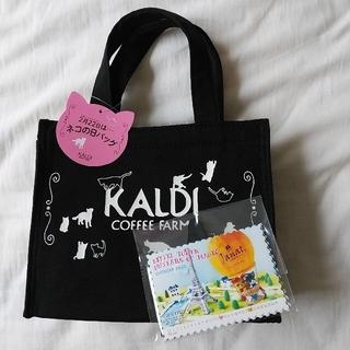 カルディ(KALDI)のカルディ ネコの日 トートバッグ/カレンダー(トートバッグ)